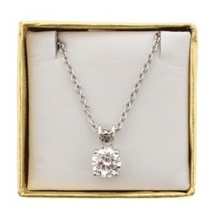 Jewelry - Kenneth Jay Lane Womens Silver Round Pendant